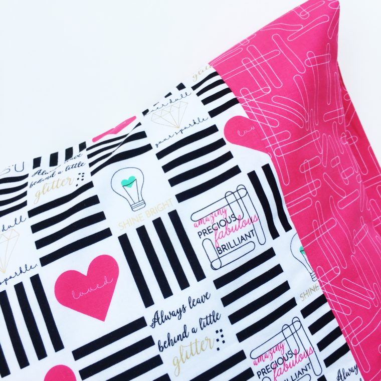 Video tutorial: 2 ways to make a pillowcase