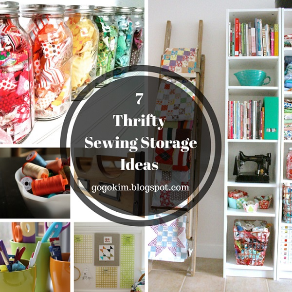 7 Cute And Thrifty Ways To Organize Your Sewing Supplies