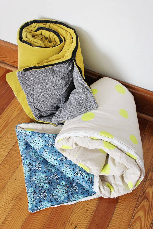 Tutorial: Sew a sleeping bag