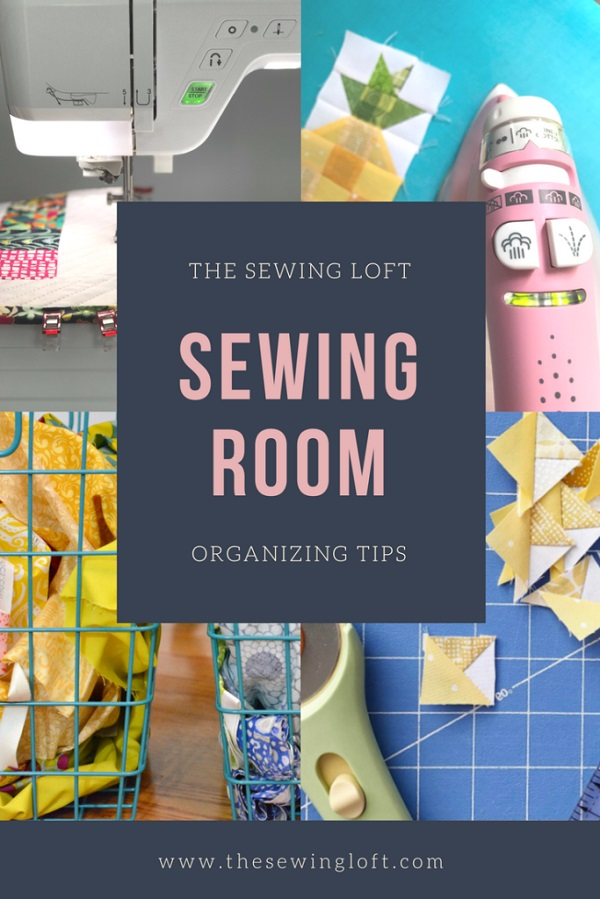 Tips for organizing your sewing supplies