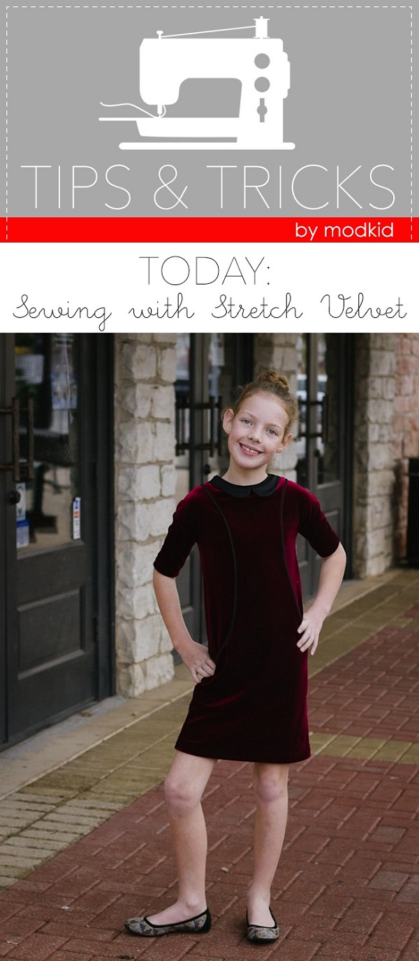 Tips for sewing on stretch velvet