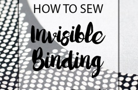Tutorial: Invisible binding for necklines and armholes