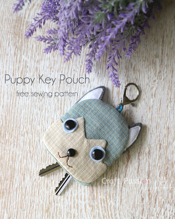Tutorial: Siberian Husky puppy key pouch