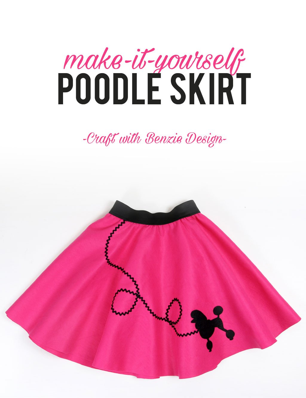Tutorial: How to make a poodle skirt
