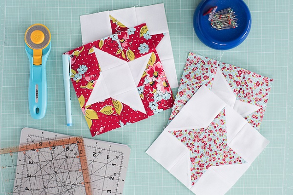 Tutorial: Friendship Star quilt block