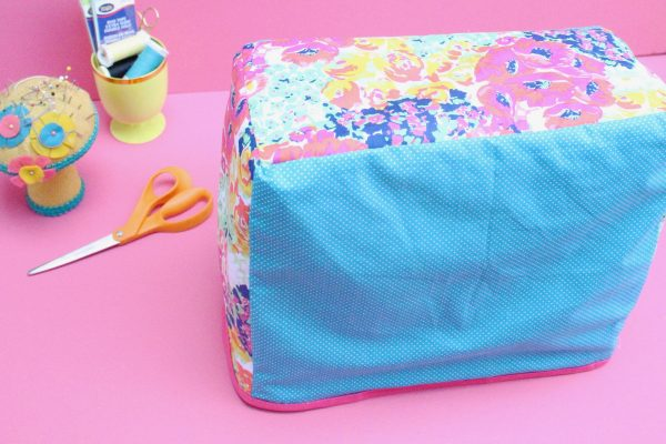 Tutorial: Easy reversible sewing machine cover