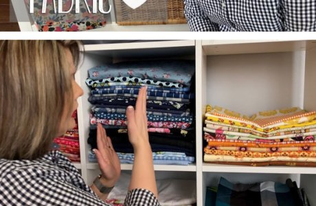 Video tutorial: Storing your fabric so it's organized and accessible