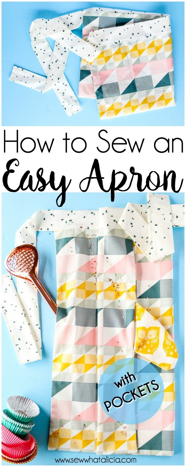 Tutorial: Easy apron with pockets