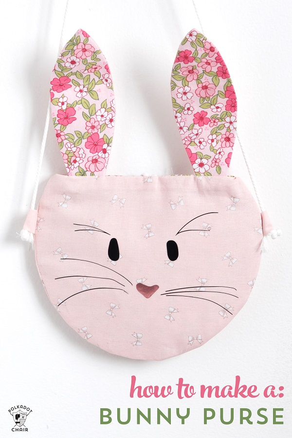 Tutorial and pattern: Bunny purse