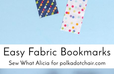 Tutorial: 15-minute fabric bookmark