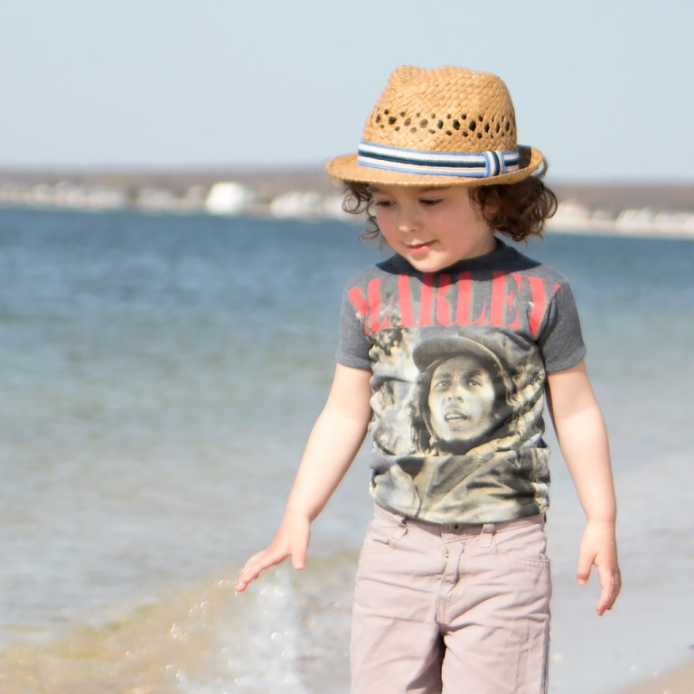 Tutorial: Make a child's tee from an adult t-shirt