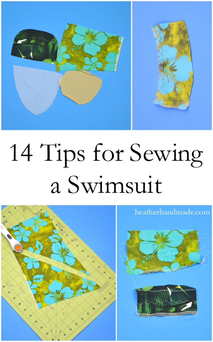 Tips for sewing your own swimsuit