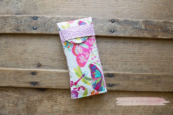 Sewing tutorial: Easy sunglasses case