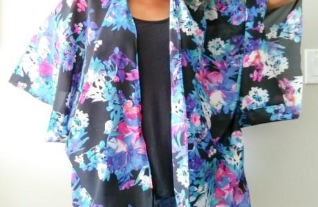 Sewing tutorial: 30 minute kimono