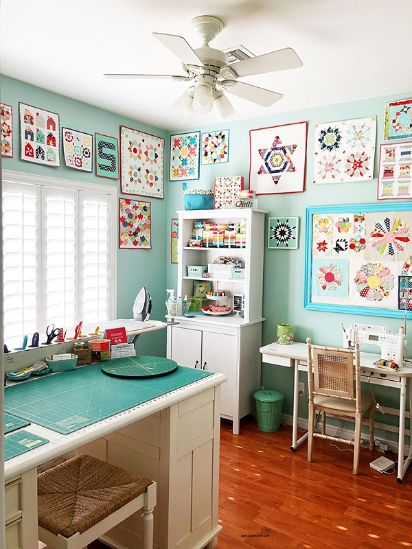 Room Design Free: Organize Your Sewing Room