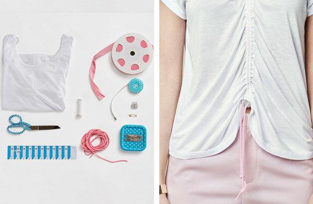 Sewing tutorial: Add drawstring gathers to a garment