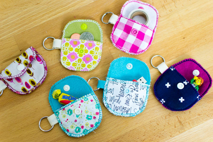 Sewing tutorial: Bit O' Kindness coin or gift pouches