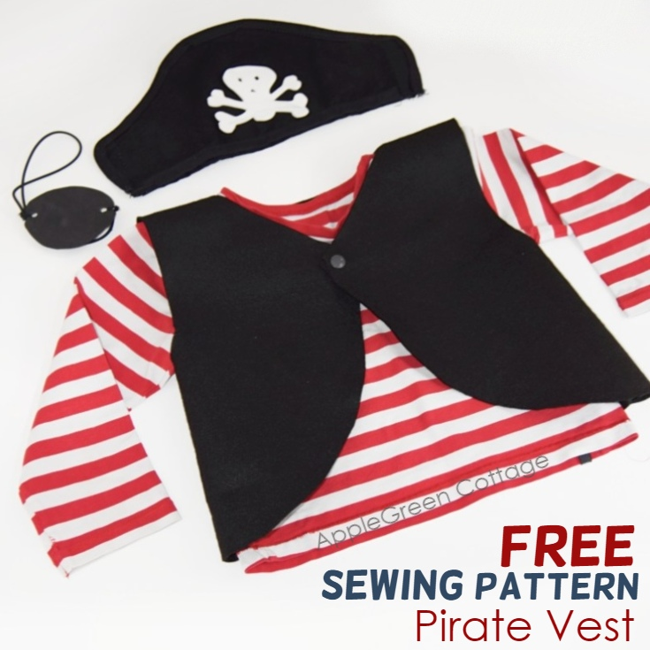Sewing tutorial: Pirate costume, with free pattern