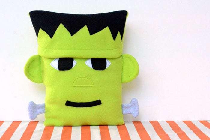 Sewing tutorial: Frankenstein Halloween pillow