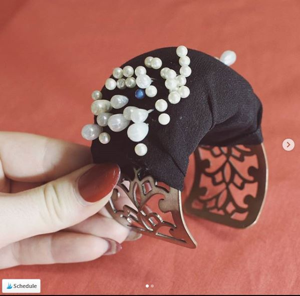Tutorial: Cuff bracelet pincushion