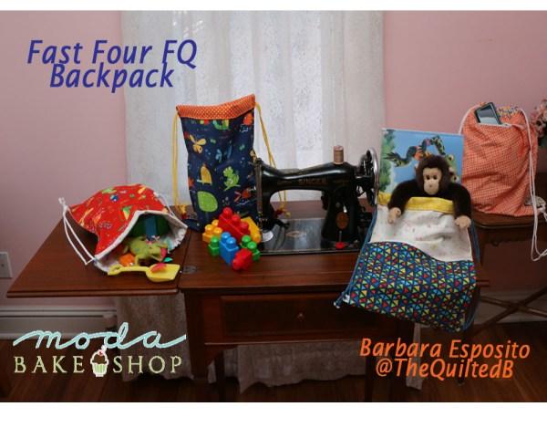 Tutorial: Easy fat quarter backpack