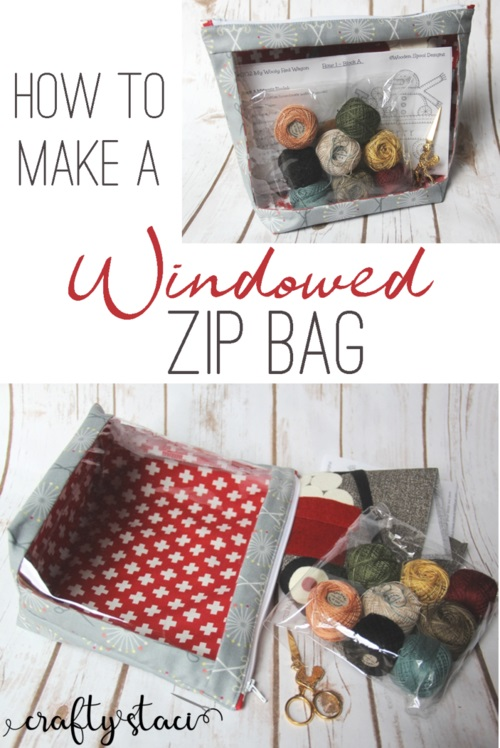 Sewing tutorial: Window front project bag
