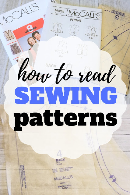 Sewing tutorial: How to read a paper sewing pattern