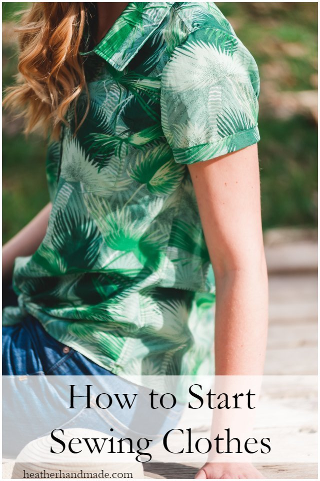 Getting started sewing your own clothes