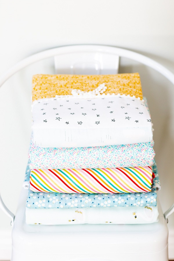 Sewing tutorial: Whole cloth baby quilt