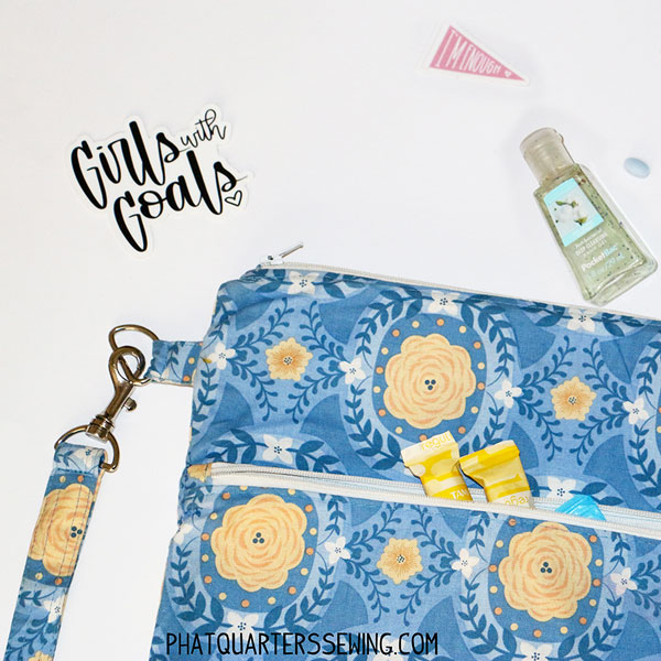 Sewing tutorial: Period supplies pouch for teen girls