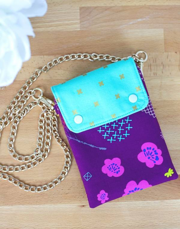 Sewing tutorial: Small cross body bag