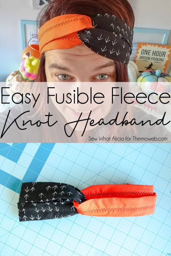Sewing tutorial: Easy knot headband