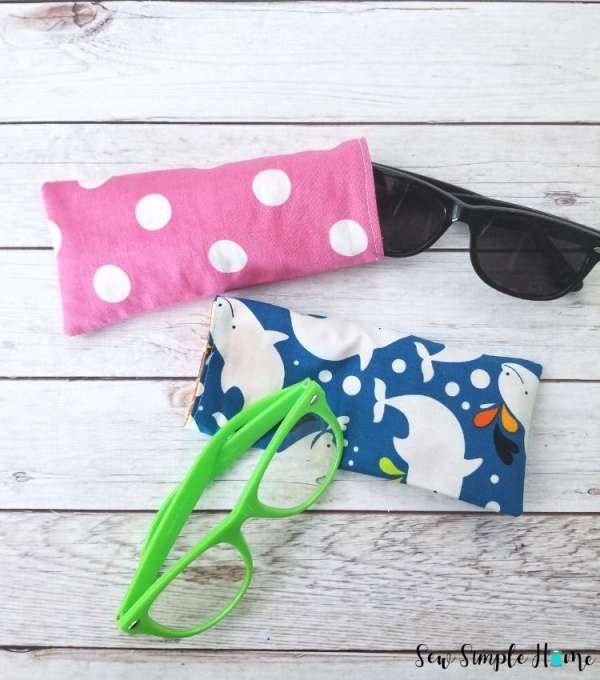DIY sewing tutorial: Easy glasses case