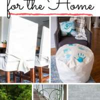 20+ Sewing Projects For The Home