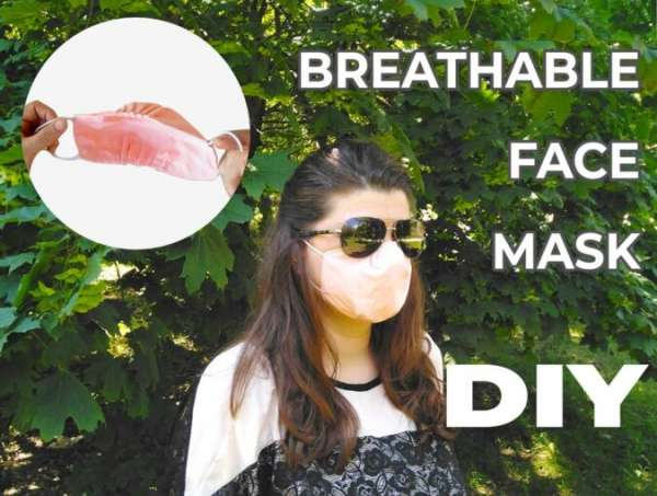 DIY Fabric Mask with Extra Breathing Room