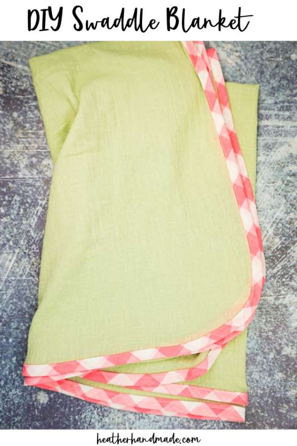 Baby Swaddle Blanket Sewing Tutorial