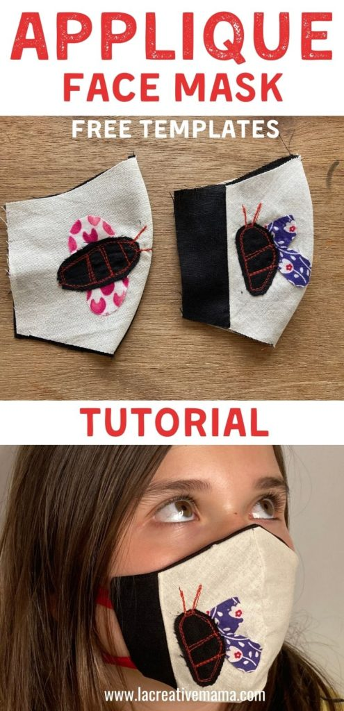 How to Add Applique to a Face Mask - Sewing Tutorial