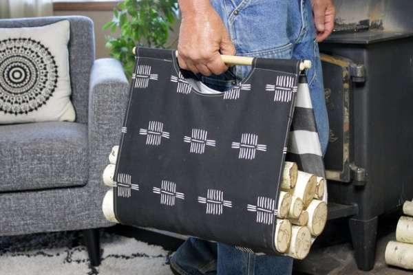 DIY Firewood Carrier - Sewing Tutorial