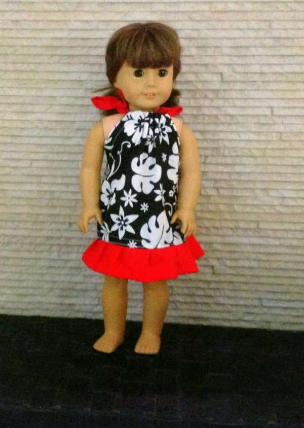 Pillowcase Dress for American Girl Doll - Free Sewing Pattern