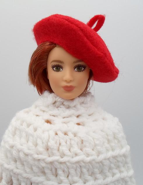Felt Beret for Barbie Dolls - DIY Sewing Tutorial