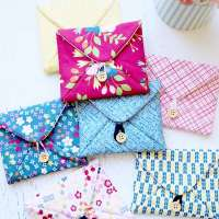 Love Note Fabric Envelopes - Free Sewing Pattern