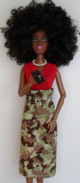 Ruffled High Waist Barbie Skirt - DIY Sewing Tutorial