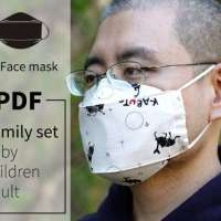 3D Face Mask Pattern