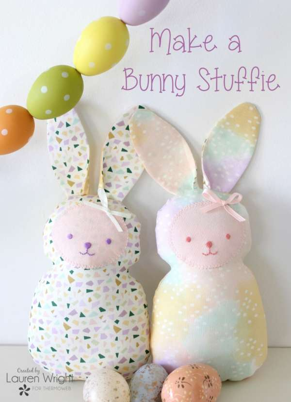 Bunny Softie - Free Sewing Pattern