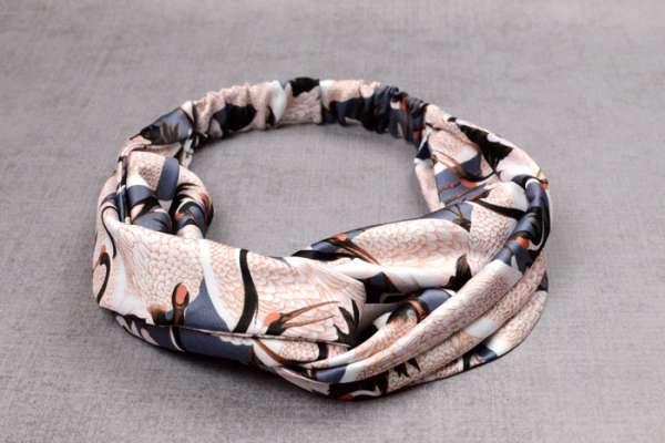 Twisted Fabric Headband - Free Sewing Pattern