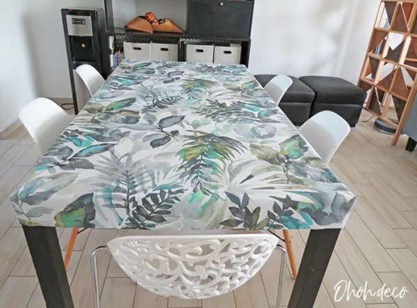 Easy DIY Fitted Tablecloth Sewing Tutorial