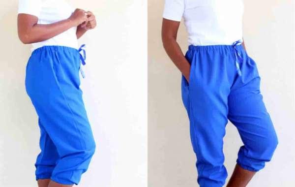 Women's Jogger Pants Free Sewing Pattern