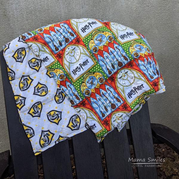 DIY Weighted Blanket Sewing Tutorial