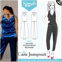 Cara Jumpsuit–SimpleSew Patterns