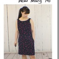 My Cherry Cord Dress